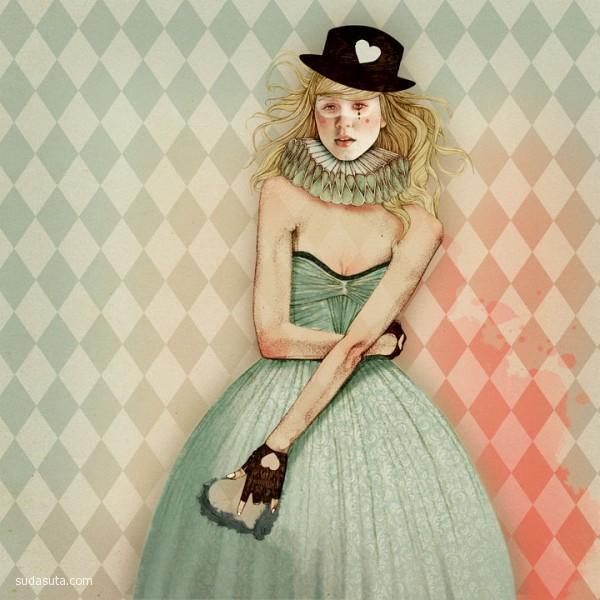 Elodie 时尚插画欣赏