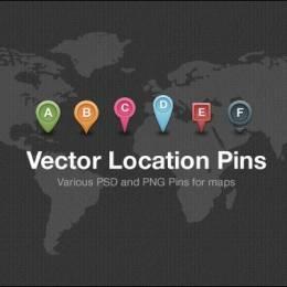 地图相关PSD素材免费下载