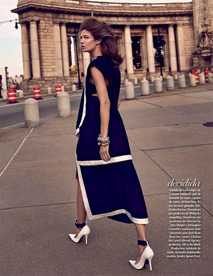 超级模特 Kendra Spears 时尚街拍