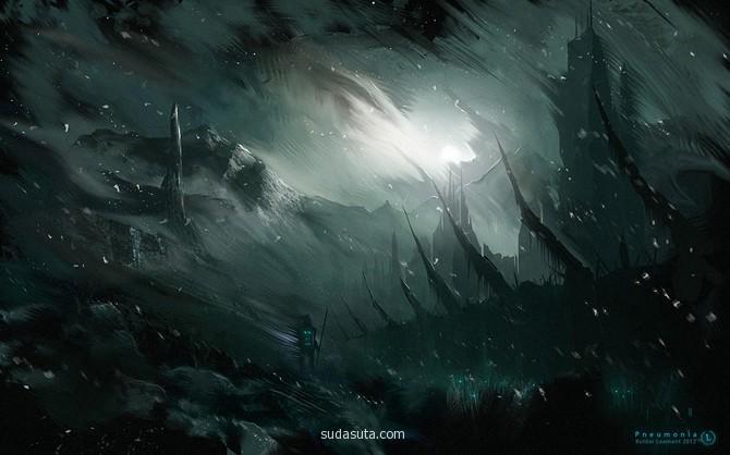 Kuldar Leement 概念插画欣赏