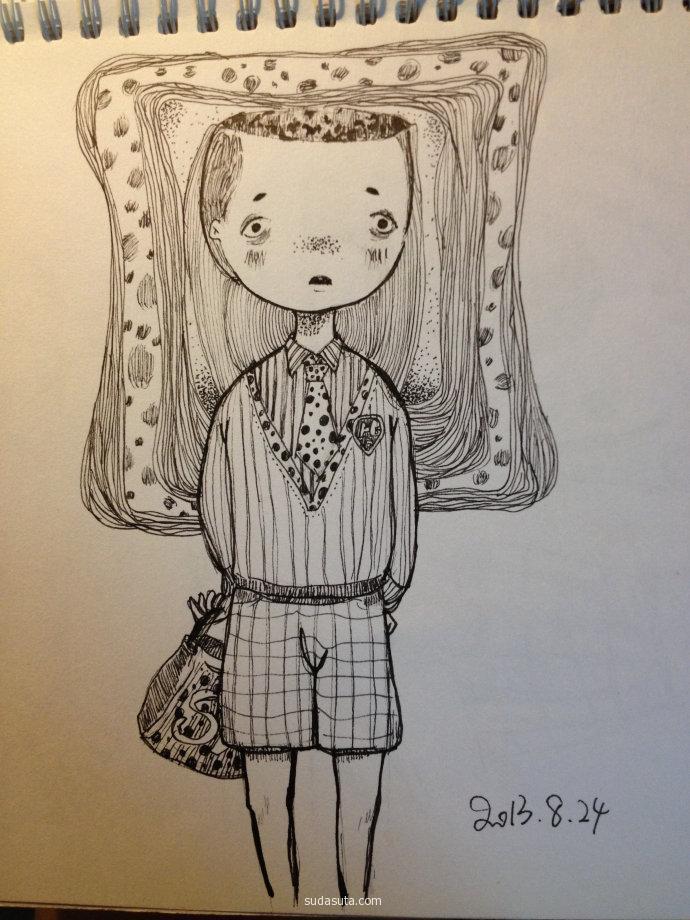 Nena_亚 手绘插画欣赏