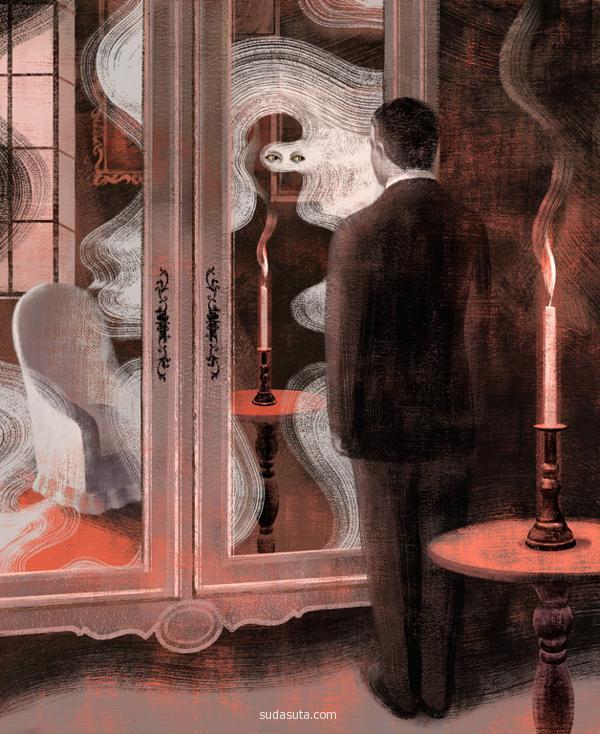 Anna & Elena Balbusso 超现实主义插画作品欣赏