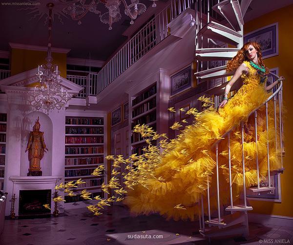 Miss Aniela 梦幻般的时尚摄影欣赏