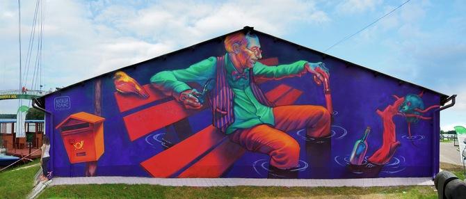 Natalia Rak 街头墙上涂鸦欣赏