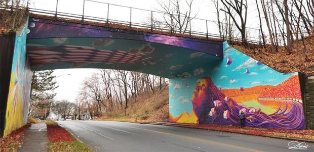 Dasic 街头涂鸦艺术欣赏