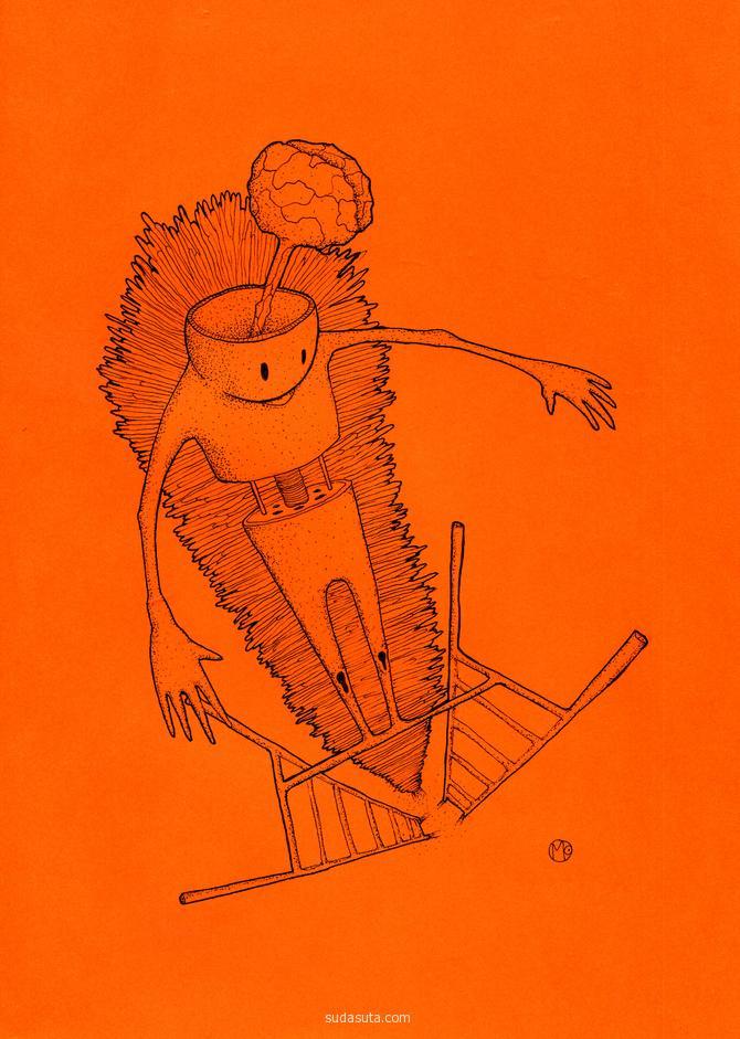 Tashkent Mokich Paul 手绘小怪物