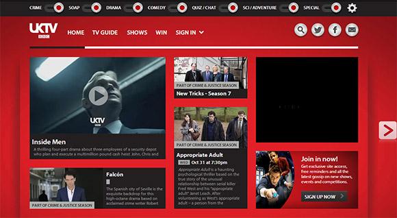 单色创意网站设计欣赏