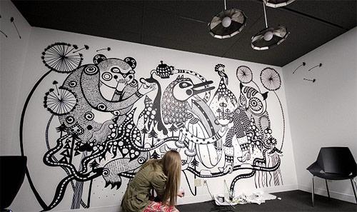 Ola Volo 墙上艺术