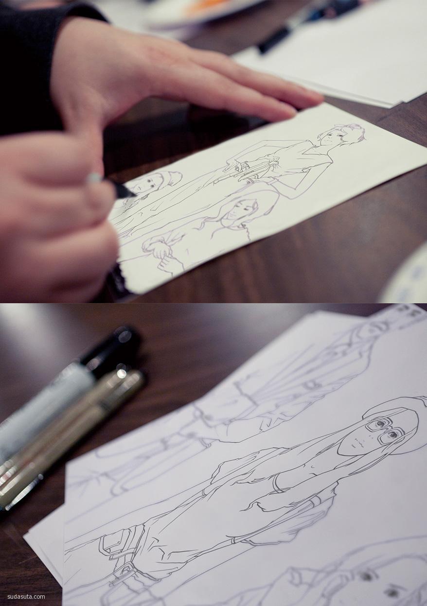 奕樺Chagall 时尚插画欣赏