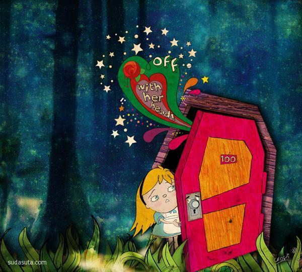 Christina Tsevis 儿童插画欣赏