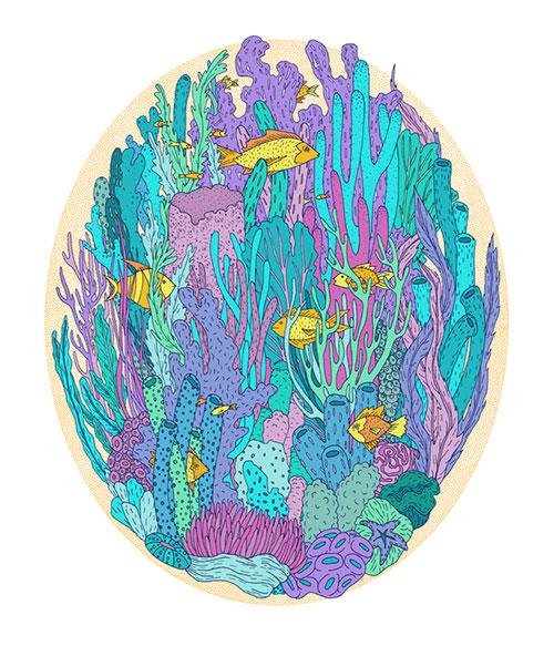 Gaby D'Alessandro 唯美细腻的插画欣赏