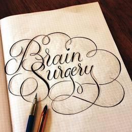 Ged Palmer 手写字体设计欣赏