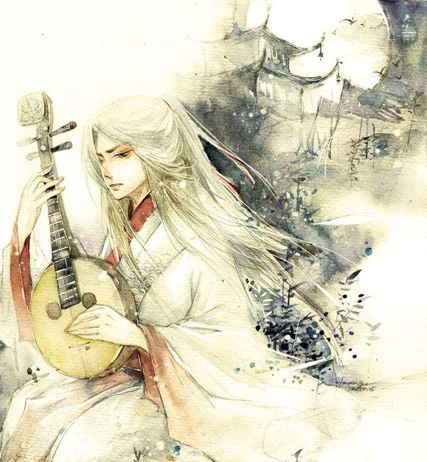 Joangi蘇山行 手绘中国风插画欣赏