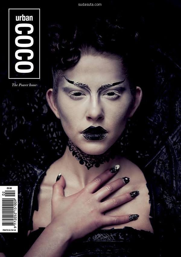 Karla Powell 黑白时尚摄影欣赏