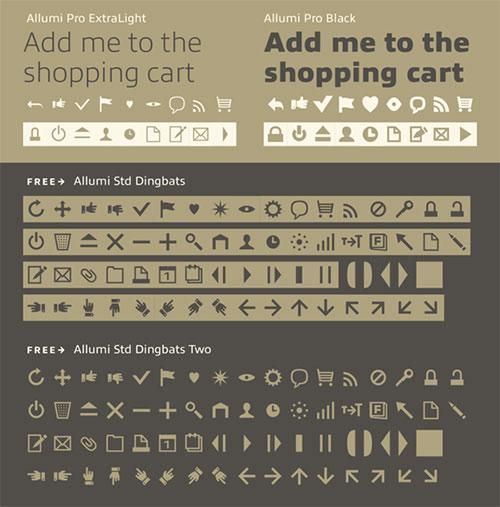 最新免费英文字体下载
