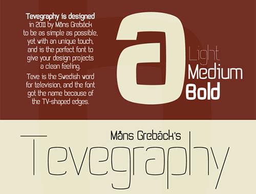 设计师必备英文字体免费下载