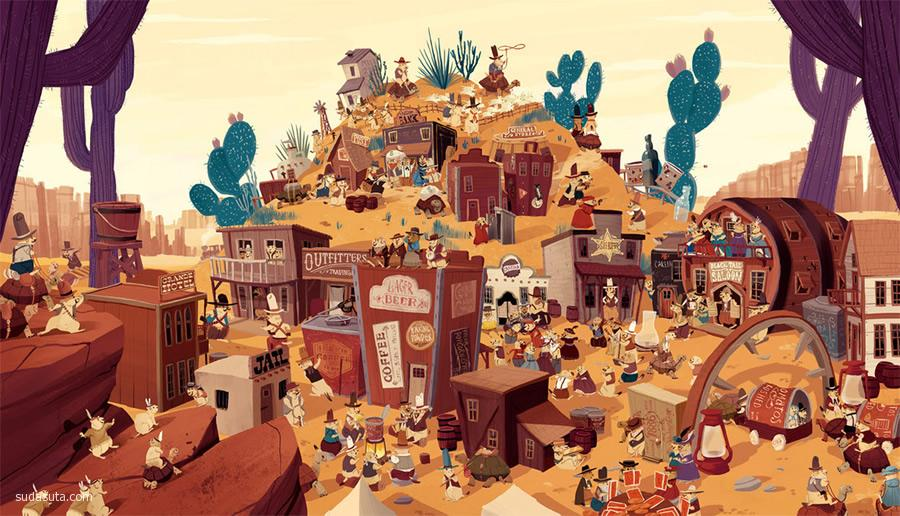 Kim Smith 令人惊叹的插画作品欣赏