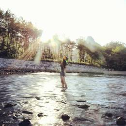 vicky_yinya 原创摄影投稿 暖日晴天