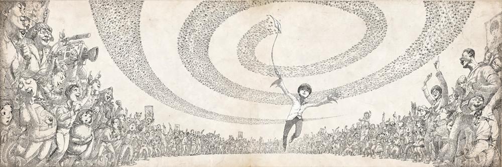田宇/原创绘本画家田宇作品《蝇王》
