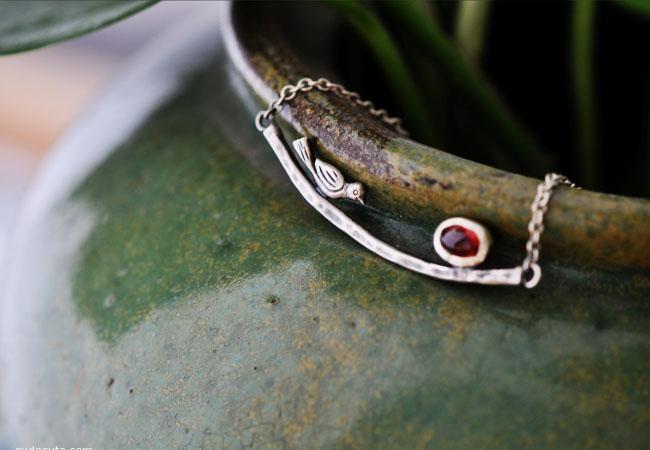 艺圃 手工银饰品设计欣赏