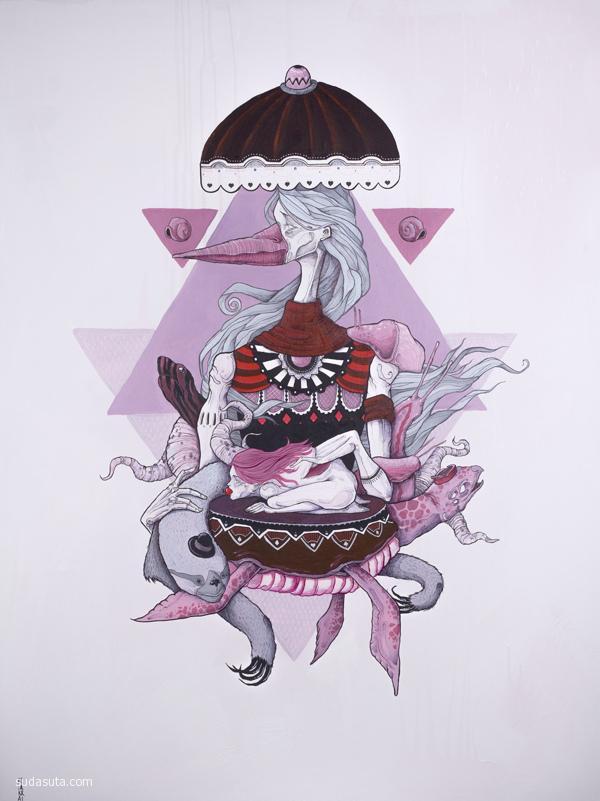 Isaac Malakkai 个性插画欣赏