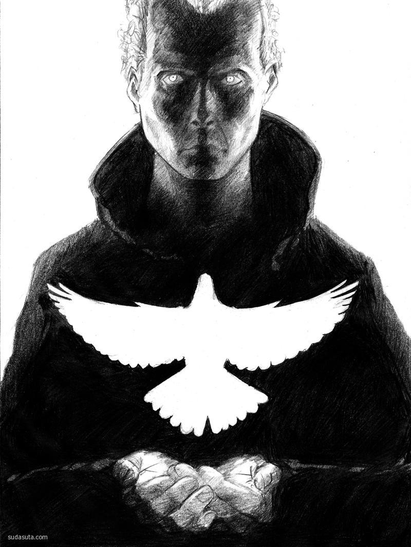 银翼杀手 主题插画欣赏