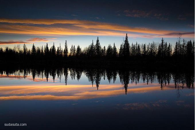 Dave Brosha 自然摄影欣赏 极光