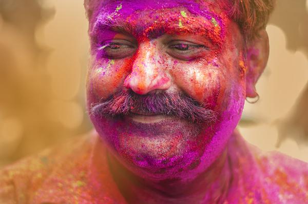 Karthikn raveendiran 摄影作品欣赏 洒红节