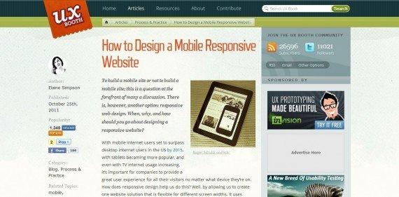 怎样创建一个响应式的网站