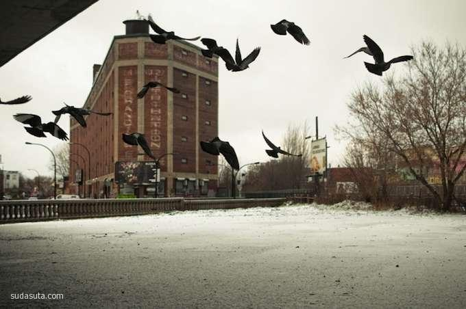 Julien Coquentin 摄影作品欣赏 星期天的早晨