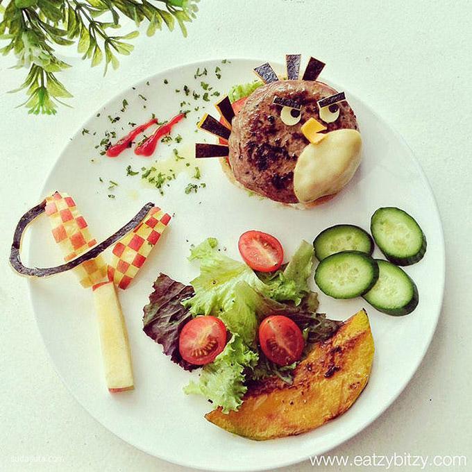 Lee Samantha 卡通美食艺术