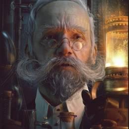 Pawel Rebisz 数字艺术肖像插画