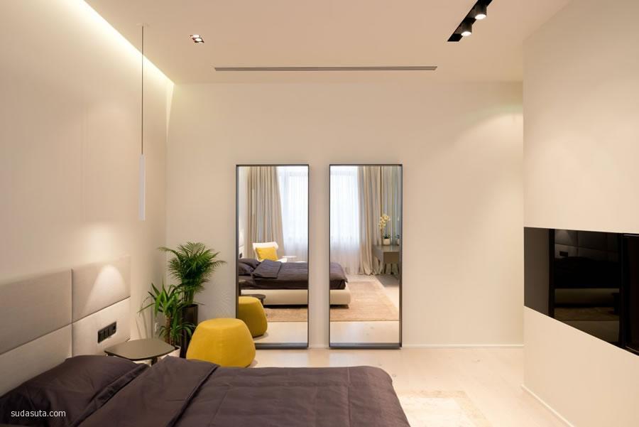 建筑设计欣赏 New Arbat Apartment