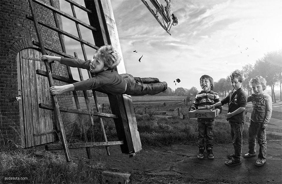 Adrian Sommeling 超现实主义儿童摄影欣赏