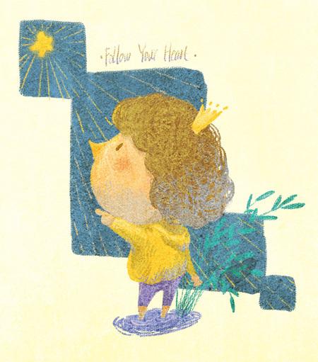 我是春光 原创儿童插画欣赏