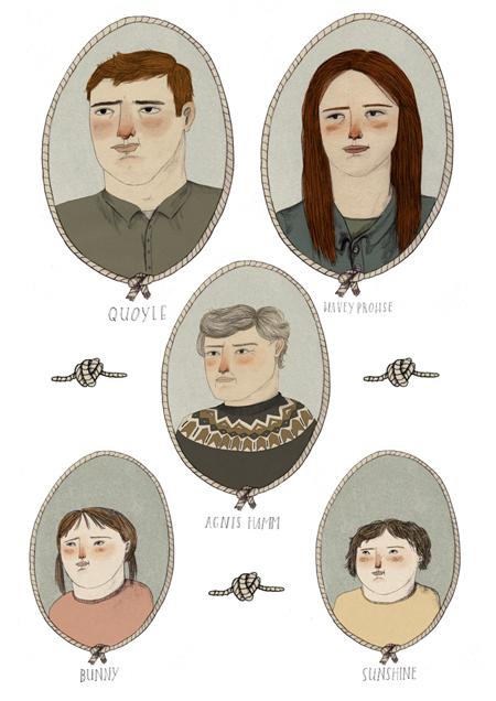 Lizzy Stewart 插画作品欣赏