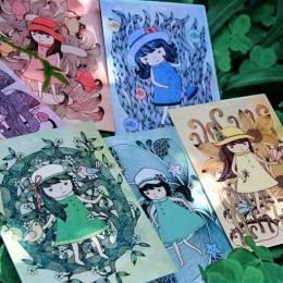 小林创意 手绘明信片