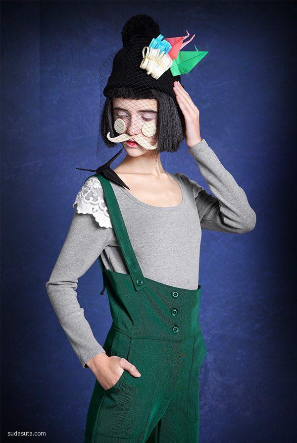 小维同学 夸张复古的时尚摄影欣赏