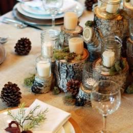 图片素材 圣诞蜡烛装饰品