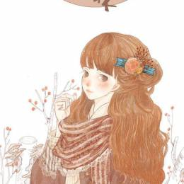 哈鲁 清新少女小漫画