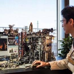 Hiroto Ikeuchi 不可思议的电脑模型