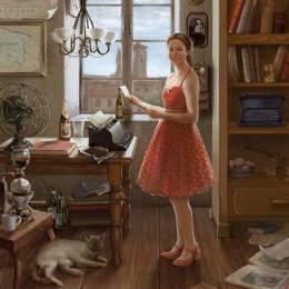 Kristina Gehrmann 复古手绘欣赏