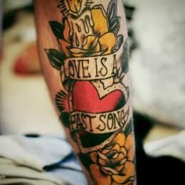 关于爱的纹身