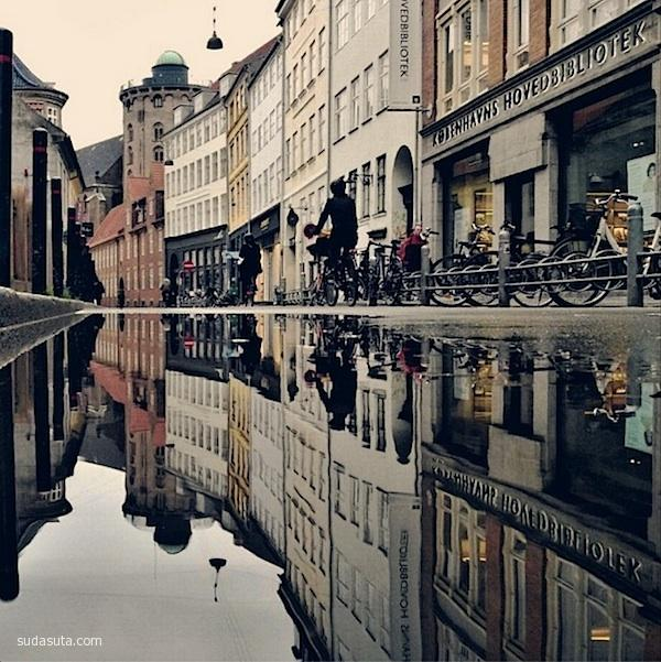 Morten Nordstrøm 雨后的城市 - 苏打苏塔设计量贩铺 – sudasuta.com – 每日分享创意灵感!