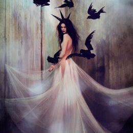 Elizaveta Porodina 时尚摄影欣赏《冬季的女王》