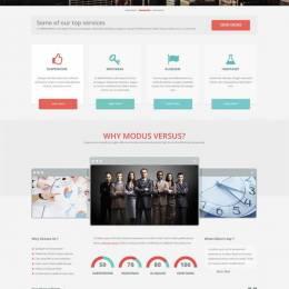 最新PSD网站模版分享