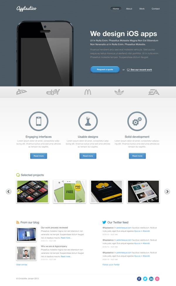 7-free-website-psd-templates