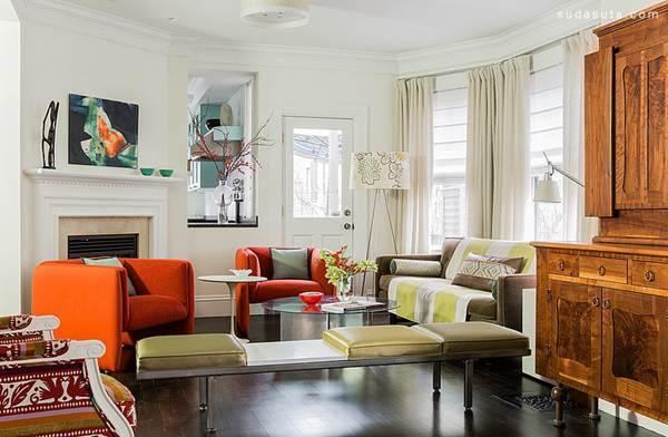 欣赏 室内设计/Annie Hall Interiors 室内设计欣赏