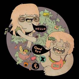 Camellie 诙谐有趣的卡通插画
