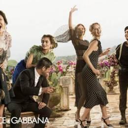 Dolce&Gabbana 2014春季广告欣赏